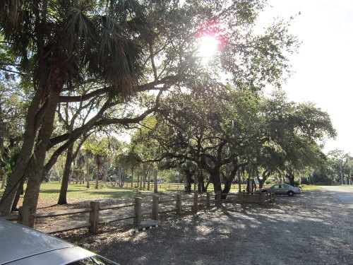 Parking Area, Donald B. Moore Preserve