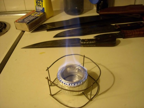 Alcohol Stove, Winter Backpacking
