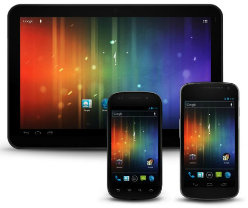 Android Devices - Nexus, satellite imagery