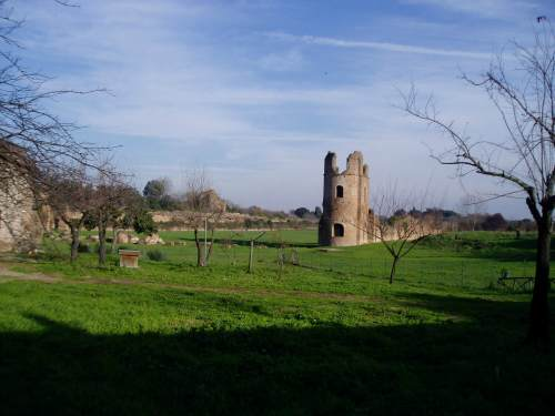 The Appia Antica, best cheap backpacking in europe