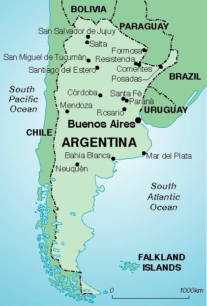 Argentina, backpacking around south america