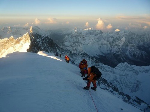 Ascent To The Summit Of Mt Everest, Mt Everest