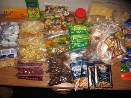 Backpacking Food, backpacking food ideas
