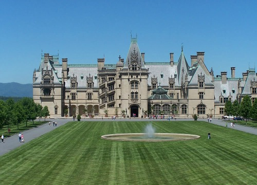Biltmore Estate Near Asheville, NC, Mt Pisgah