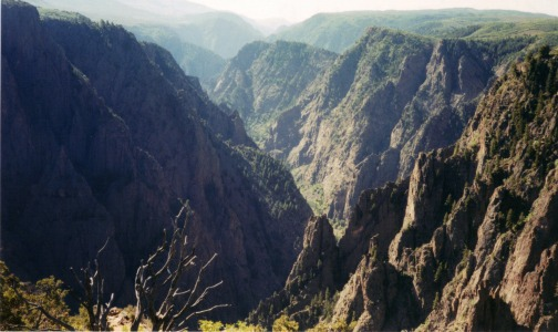 Black Canyon of the Gunnison National Park, backpacking light