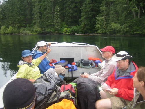Boat Trips, West Coast Trail Backpacking