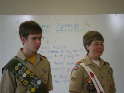 boy scouts backpacking list