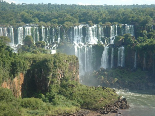 Brazil - Foz de Iguacu Park, backpacking around south america