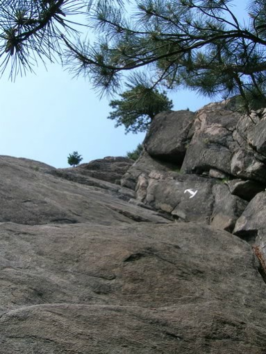 Challenging Rock Ascents, backpacking trails