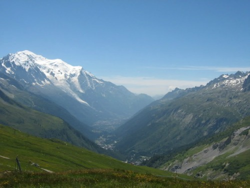 Chamonix Valley, backpacking europe