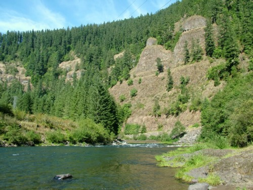 Clackamas River, Bagby Hot Springs