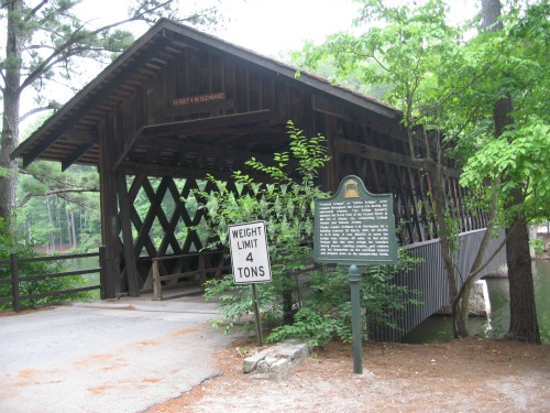 Covered Bridge, stone mountain