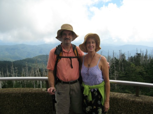 Dolores and Joe, great smoky mountains national park