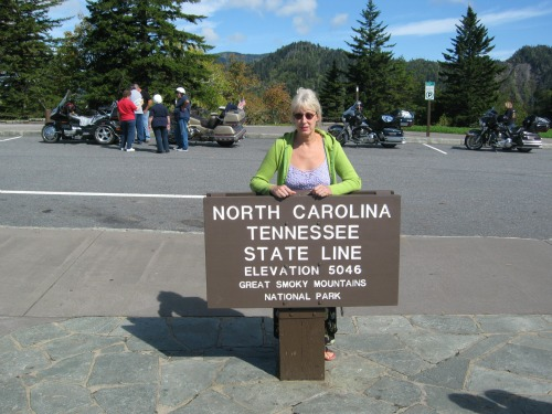 Dolores at State Line, great smoky mountains national park