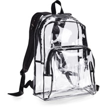 Eastport Clear Backpack, back packs