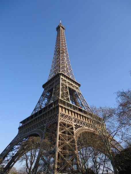 Eiffel Tower, Backpacking Tours Around Europe