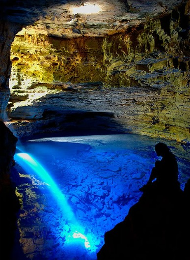 Fabulous Underground Caves And Diving Spots, backpacking brazil