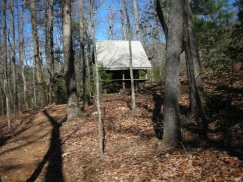 Gooch Mountain Shelter, springer mountain
