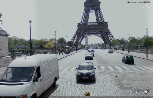 Google Earth, street view