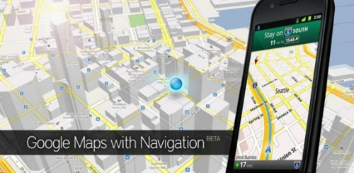 Google Maps, Android Apps
