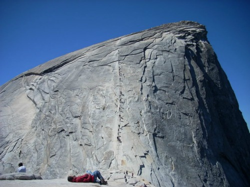 A Grueling Hike - Half Dome, Hiking Backpacks