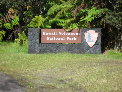 Hawaii Volcanoes National Park, travel backpack