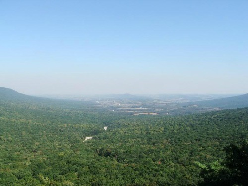 Hawk Mountain Looking South, springer mountain