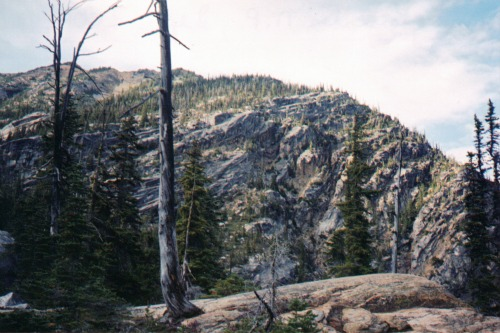 High Dry Peak, north cascades national park