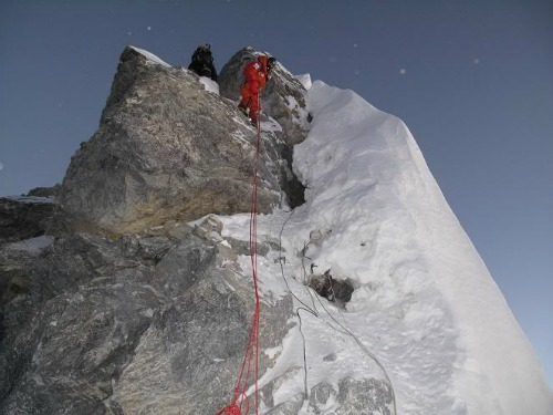 The Hillary Step, Mt Everest