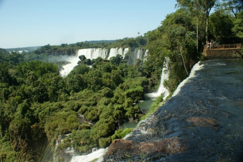 Iguazu Falls!, backpacking around south america