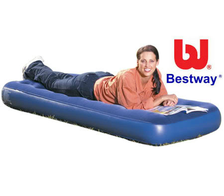 Inflatable Air Mattress, Camping Backpack!