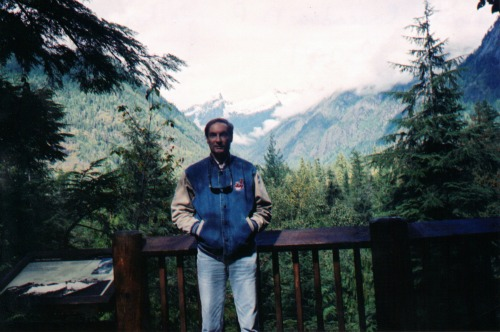 Joe at North Cascades Visitor Center, north cascades national park