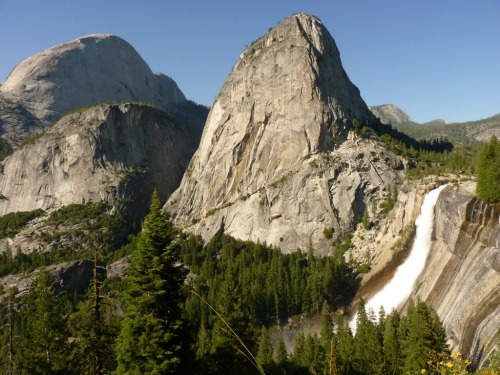 John Muir Trail and Nevada Falls