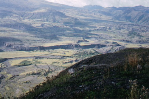 Large Canyon, mount st helens