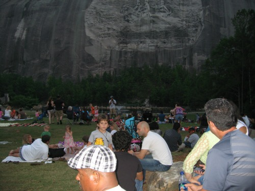 Lasershow Spectacular, stone mountain
