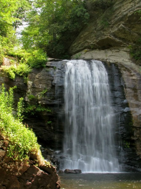 Looking Glass Falls, Pisgah National Forest, Mt Pisgah