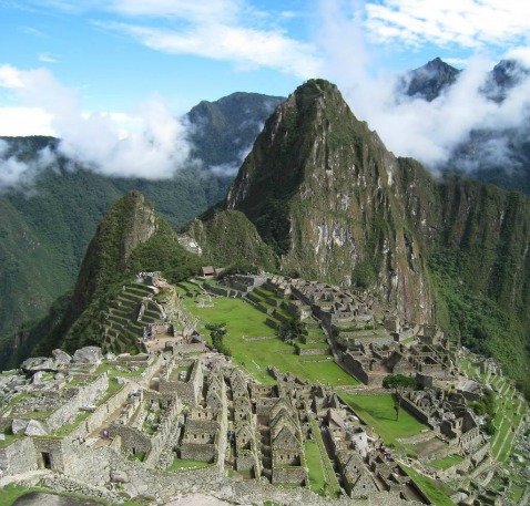 Machu Picchu, backpacking destinations