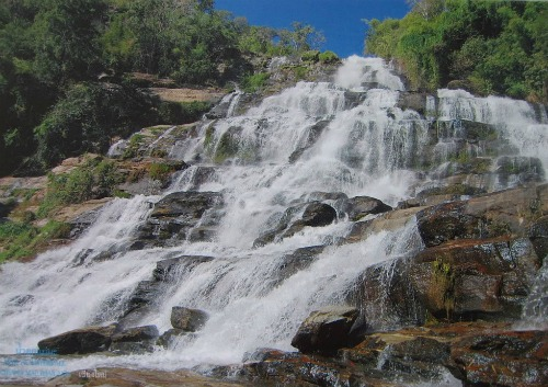Mae Ya Waterfall, thailand backpacking