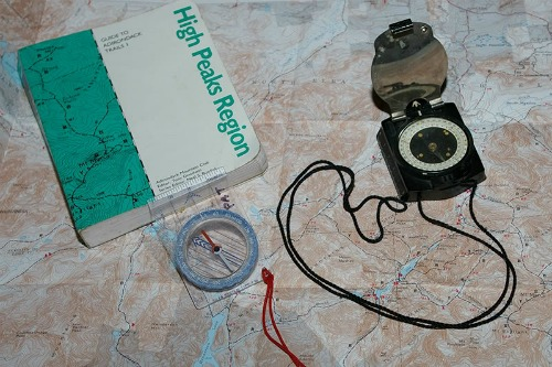 Map And Compass, backpacking for dummies