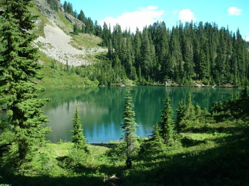 Alpine Lakes Wilderness, Margaret Lake, Pacific Crest Trail