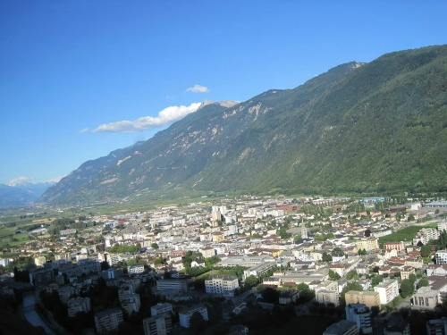 Martigny, Switzerland, backpacking europe