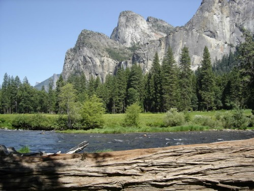 Merced River, Yosemite Village
