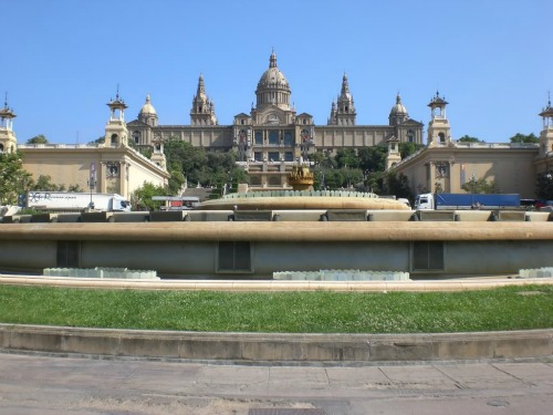 Montjuic, best cheap backpacking in europe