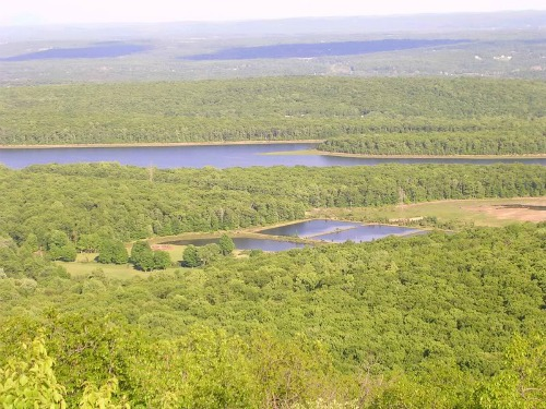 Yards Creek Resevoir From Mt. Mohican, Sunfish Pond