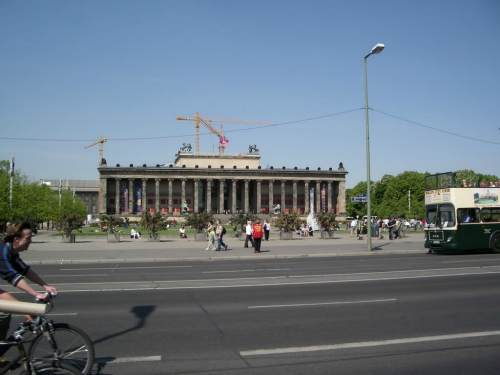 Berlin's Museum Island, best cheap backpacking in europe