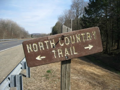 The North Country Trail, backpacking in michigan
