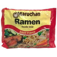 Ramen, backpacking food ideas