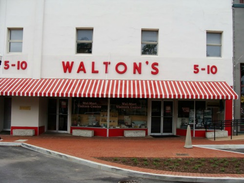 Sam Walton's First Store, backpacking websites