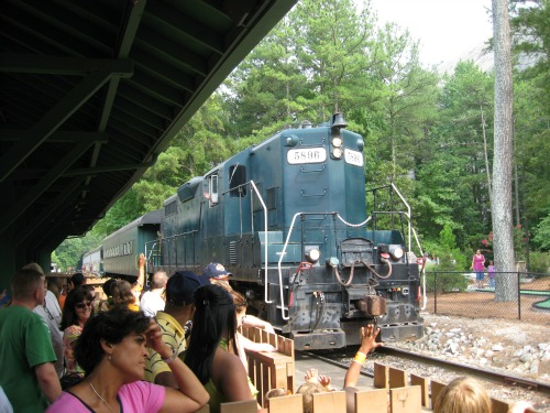 Scenic Railroad, stone mountain