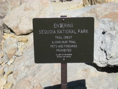 Sequoia National Park, John Muir Trail